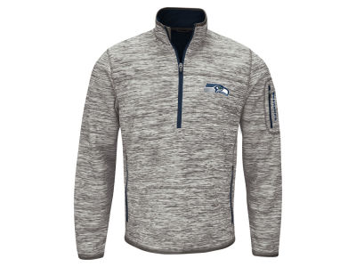 Seattle Seahawks GIII NFL Men's Fast Pace 1/4 Zip Pullover