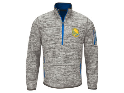 Golden State Warriors GIII NBA Men's Fast Pace Quarter Zip Pullover