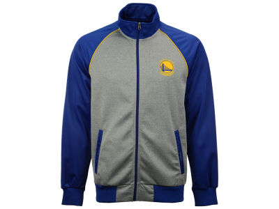Golden State Warriors GIII NBA Men's Throwback Track Jacket