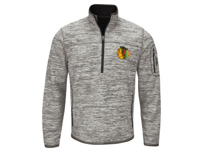 Chicago Blackhawks GIII NHL Men's Fast Pace 1/4 Zip Pullover