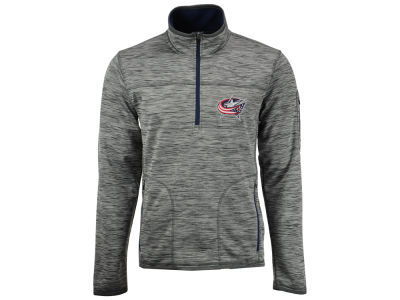 Columbus Blue Jackets GIII NHL Men's Fast Pace 1/4 Zip Pullover
