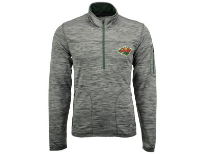 Minnesota Wild G-III Sports NHL Men's Fast Pace 1/4 Zip Pullover