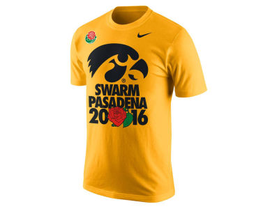 Iowa Hawkeyes Nike NCAA Men's Swarm Pasadena T-Shirt