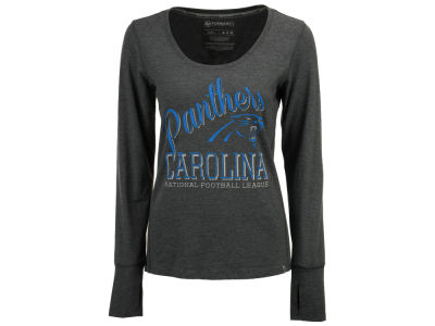 Carolina Panthers '47 NFL Women's Dash Long Sleeve T-Shirt