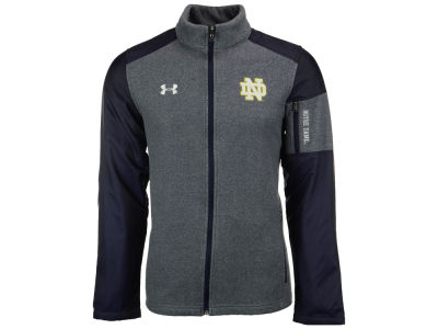 Notre Dame Fighting Irish Under Armour NCAA Men's Survivor Fleece Full Zip Jacket