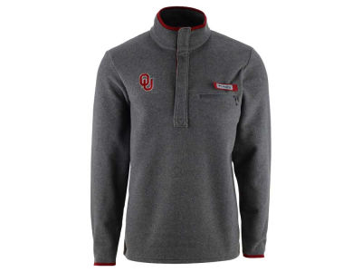 Oklahoma Sooners Columbia NCAA Men's Harborside Fleece Pullover