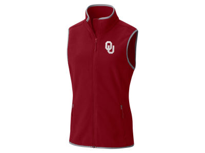 Oklahoma Sooners Columbia NCAA Women's Fuller Ridge Fleece Vest