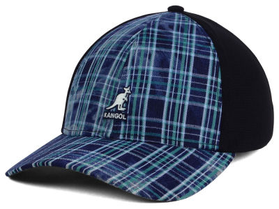 Kangol Distressed Plaid Stretch Fit Hat
