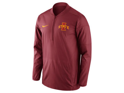 Iowa State Cyclones Nike NCAA Men's Lockdown Half Zip Jacket