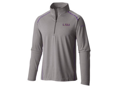 LSU Tigers Columbia NCAA Men's Tuk Mountain Half Zip Pullover