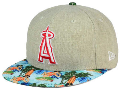 Los Angeles Angels New Era MLB Vacation Vize Snapback Cap