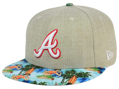 Atlanta Braves New Era MLB Vacation Vize Snapback Cap