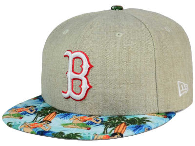 Boston Red Sox New Era MLB Vacation Vize Snapback Cap