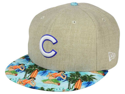 Chicago Cubs New Era MLB Vacation Vize Snapback Cap