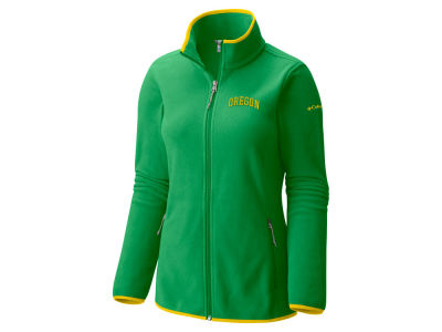 Oregon Ducks Columbia NCAA Women's Fuller Ridge Fleece Jacket