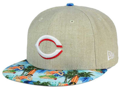 Cincinnati Reds New Era MLB Vacation Vize Snapback Cap