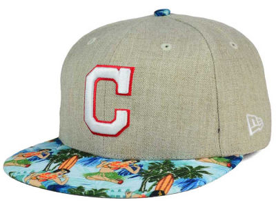 Cleveland Indians New Era MLB Vacation Vize Snapback Cap