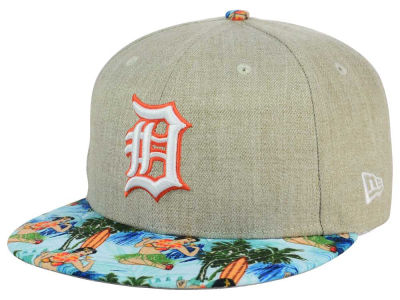 Detroit Tigers New Era MLB Vacation Vize Snapback Cap