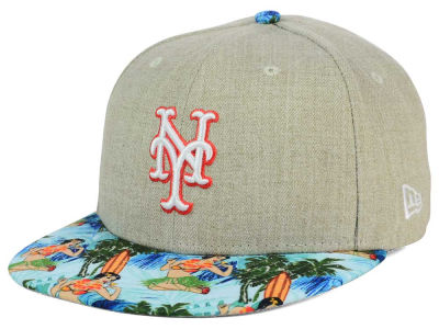 New York Mets New Era MLB Vacation Vize Snapback Cap