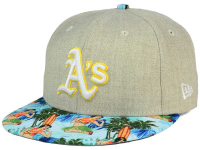 Oakland Athletics New Era MLB Vacation Vize Snapback Cap