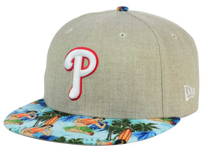 Philadelphia Phillies New Era MLB Vacation Vize Snapback Cap