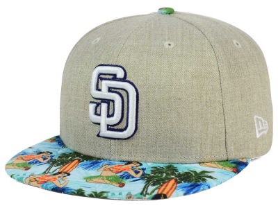 San Diego Padres New Era MLB Vacation Vize Snapback Cap