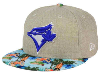 Toronto Blue Jays New Era MLB Vacation Vize Snapback Cap