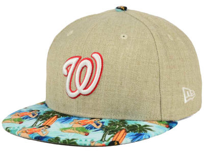 Washington Nationals New Era MLB Vacation Vize Snapback Cap