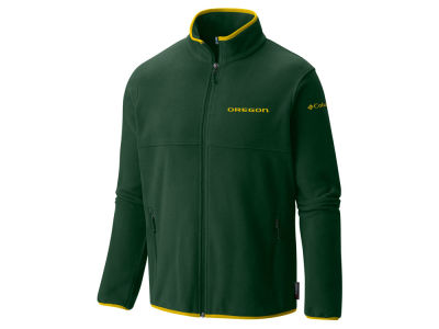 Oregon Ducks Columbia NCAA Men's Fuller Ridge Fleece Jacket