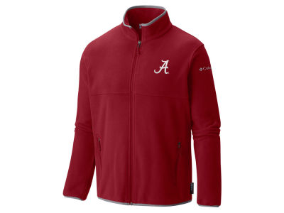 Alabama Crimson Tide Columbia NCAA Men's Fuller Ridge Fleece Jacket
