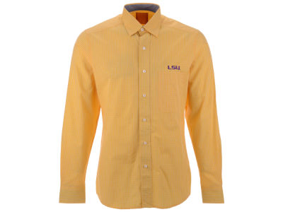LSU Tigers Antigua NCAA Men's Division Button Down Shirt