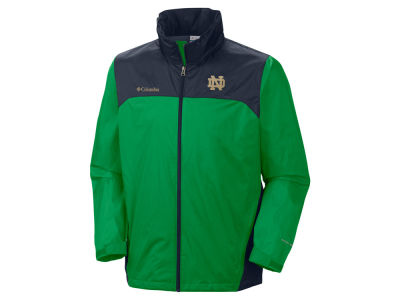 Notre Dame Fighting Irish Columbia NCAA Mens Glennaker Lake Jacket