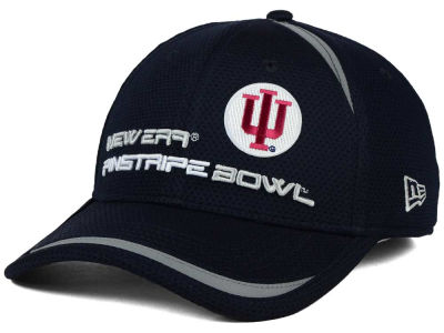 Indiana Hoosiers New Era NCAA Pinstripe Bowl Reflectaline 39THIRTY Cap