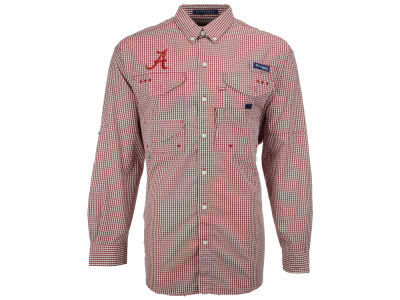 Alabama Crimson Tide Columbia NCAA Super Bonehead Long Sleeve Shirt