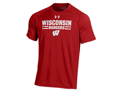 Wisconsin Badgers Under Armour NCAA Men's Tech T-Shirt