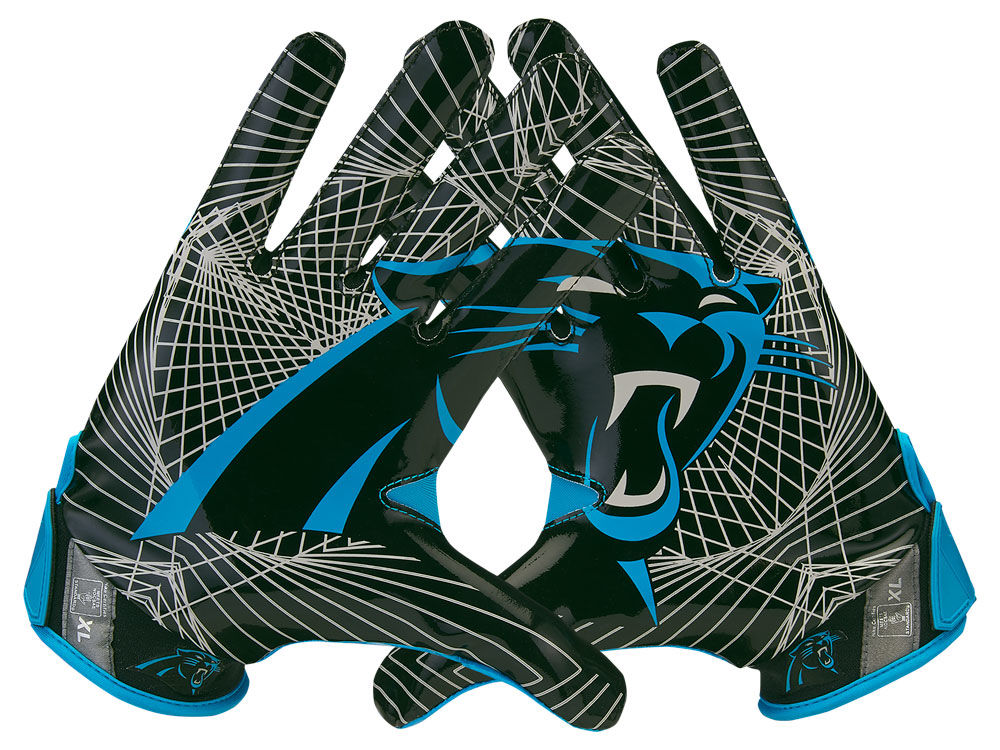 Carolina Panthers Nike Vapor Jet 4.0 Gloves  5b4fd03b7