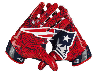 New England Patriots Nike Vapor Jet 4.0 Gloves