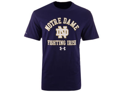 Notre Dame Fighting Irish NCAA Men's Charged Cotton T-Shirt