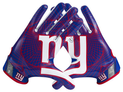 New York Giants Nike Vapor Jet 4.0 Gloves