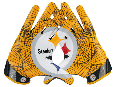 Pittsburgh Steelers Nike Vapor Jet 4.0 Gloves