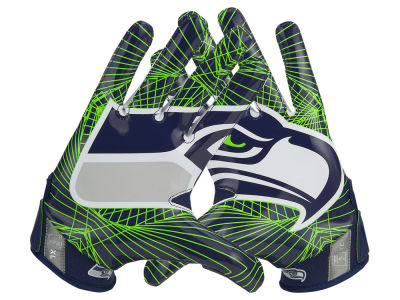 Seattle Seahawks Nike Vapor Jet 4.0 Gloves