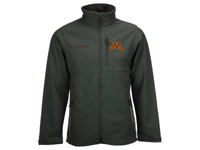 Minnesota Golden Gophers Columbia NCAA Ascender Softshell Jacket