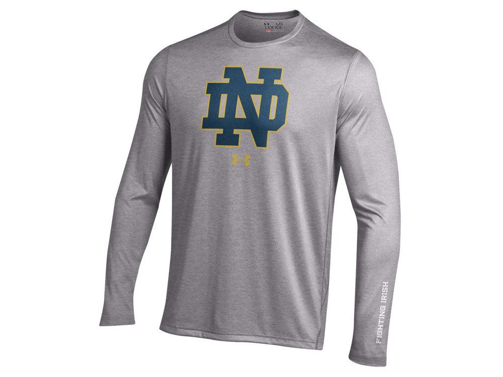 ec76a7580f Notre Dame Fighting Irish Under Armour NCAA Men's Tech Long Sleeve T-Shirt
