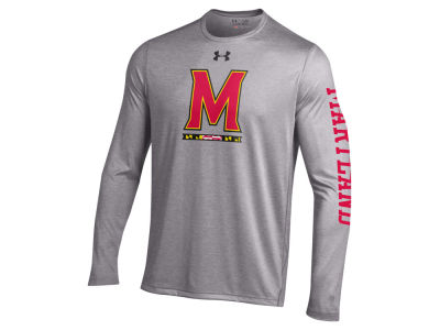 Maryland Terrapins NCAA Men's Tech Long Sleeve T-Shirt