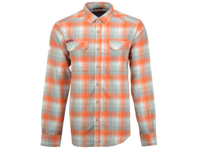 Clemson Tigers Columbia NCAA Men's Flare Gun Long Sleeve Flannel Button Up Shirt