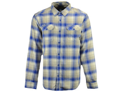 Kentucky Wildcats Columbia NCAA Men's Flare Gun Long Sleeve Flannel Button Up Shirt