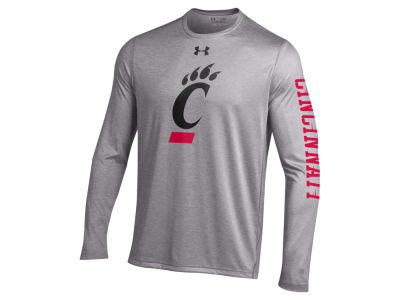 Cincinnati Bearcats NCAA Men's Tech Long Sleeve T-Shirt
