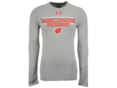 Wisconsin Badgers NCAA Men's Tech Long Sleeve T-Shirt