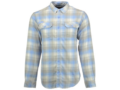 North Carolina Tar Heels Columbia NCAA Men's Flare Gun Long Sleeve Flannel Button Up Shirt