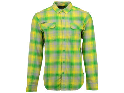 Oregon Ducks Columbia NCAA Men's Flare Gun Long Sleeve Flannel Button Up Shirt